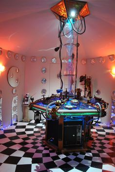 He Made His Living Room Into A TARDIS Console Doctor Who
