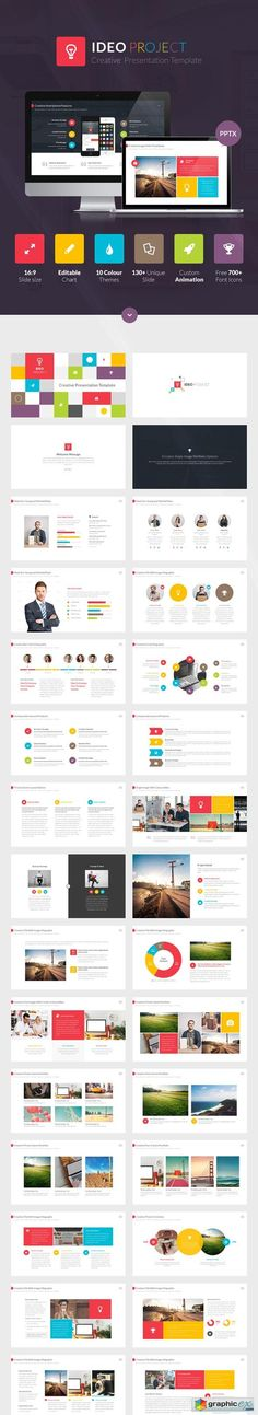 Artsy magazine powerpoint template from hotfileindex ideo powerpoint presentation template toneelgroepblik Image collections