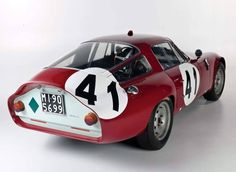 Alfa Romeo Tubolare Zagato (TZ) #alfaromeozagato