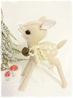 ♡ SCHNITT / E-BOOK Rehkitz / Fawn FEE ♡ Shabby ♡  von ✰ Teddy-Manufaktur ✰ auf DaWanda.com