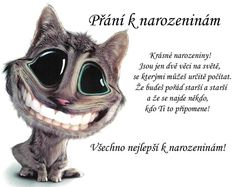 Přání k narozeninám obraz #10186 - Obrázky, citáty a animace Thought For Today, Spiritual Guidance, Thoughts And Feelings, Cute Images, Art Journal Pages, Just For Fun, Funny Texts, Art Pictures, Baby Animals