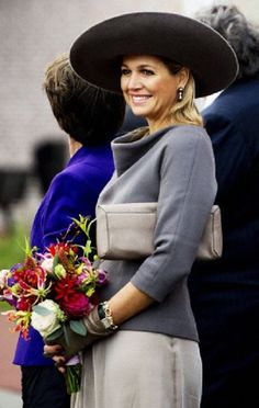 Dutch Queen Maxima opens the Isala Hospital in Zwolle, The Netherlands on 17.10.13
