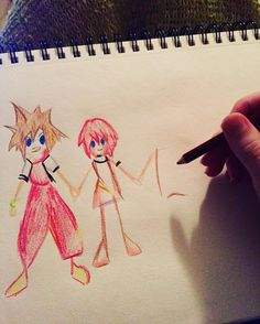 This is probably my favorite cosplay prop ever  #Namine #kingdomhearts #cosplayprop #sketchbook #sketches