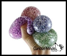 Water Beads, Busy Bags, Fidget Toys, Balls, Stress, Glitter, Tote Bags, Water Pearls, Psychological Stress