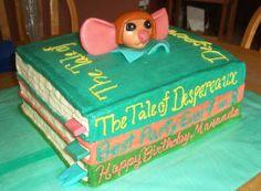 Tales of Despereaux books cake