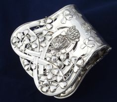 Debain French Art Nouveau Sterling 950 Silver Asparagus Pastry Server Tongs | eBay