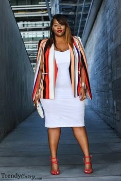 36 Professional Work Outfit Ideas For Plus Size Women - Outfit Ideen Stylish Work Outfits, Curvy Outfits, Mode Outfits, Fashion Outfits, Fall Outfits, Fashion Ideas, Fashion Quotes, Look Plus Size, Curvy Plus Size