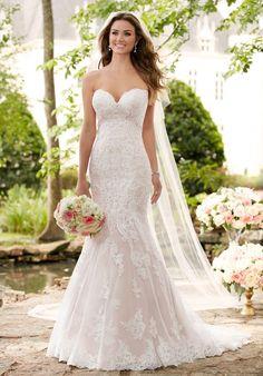 Wedding Dresses:   Illustration   Description   Show-Stopping Sparkling Silver Lace Wedding Dress | Stella York 6379 | trib.al/sWE5OU3    -Read More –   - #WeddingDresses https://adlmag.net/2017/12/26/wedding-dresses-show-stopping-sparkling-silver-lace-wedding-dress-stella-york-6379-trib-al-s/