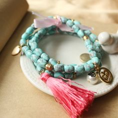 JUICY Beaded Bracelet