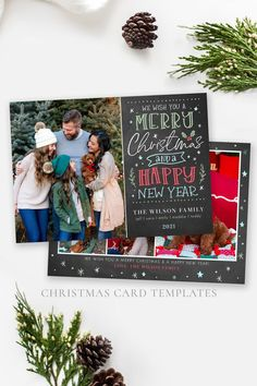 pread some holiday cheer this season with a festive Christmas Card Template. Your family photos will look perfect in this 5x7 Christmas card. You can quickly and easily edit your card online in your web browser, then download and print right away! Choose from a Year in Review or just photos for the back! Both options included! Demo Now! #ChristmasCards #ChristmasCardIdeas #ChristmasTemplate #ChristmasCard #HolidayPhotoCard Family Christmas Cards, Holiday Photo Cards, Merry Christmas, Costco Home, Christmas Card Template, Text Color, Happy New Year, Family Photos, Web Browser