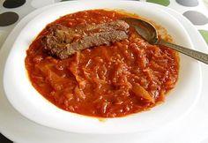17 tunkolnivaló bográcsos étel | NOSALTY Hungarian Recipes, Hungarian Food, Chili, Grilling, Cooking Recipes, Soup, Beef, Mat, Foods