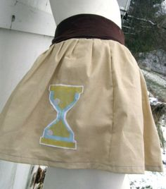MY LITTLE PONY Skirt Doctor Whooves who MLP FiM Cosplay your sz Kawaii | PoppysWickedGarden - Clothing on ArtFire