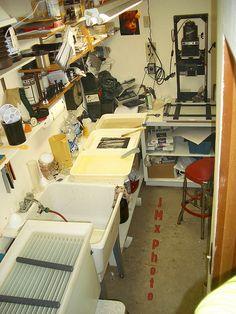 A Grandfather's Darkroom
