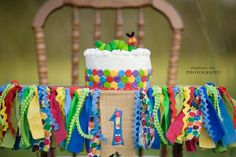 Project Nursery - The Very Hungry Caterpillar Smash Cake