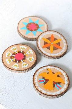 the inspiration for the hand painted coasters that kaykay is going to make for the new apt