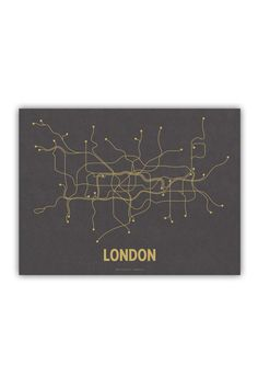 """London Underground Map. Anyone who has used the """"Tube"""" appreciates the access it gives you to the wonderful city of London."""
