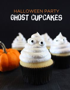 Ghost Cupcakes | Style & Spice