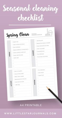 A printable kit of cleaning checklists to help with your weekly and monthly cleaning tasks. Feel the satisfaction of ticking off cleaning jobs as you go. Weekly Cleaning Checklist, Cleaning Kit, Cleaning Routines, Free Planner Pages, Printable Planner Pages, Free Printables, Steam Clean Carpet, How To Clean Carpet, Home Management Binder