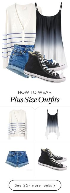 """""""Just because my path is different doesn't mean I'm lost"""" by grace199617 on Polyvore featuring Band of Outsiders, Levi's and Converse"""