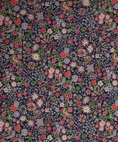 NEW SEASON! Liberty Art Fabrics Kayoko A Tana Lawn | Tana Lawn by Liberty Art Fabrics | Liberty.co.uk
