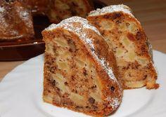 Almás kuglóf   Antukné Ildikó receptje - Cookpad receptek Hungarian Recipes, Italian Recipes, Baking Recipes, Dessert Recipes, Bread Baking, Cake Baking, Sweet Bread, No Bake Cake, Bakery