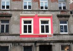 Genial idea publicitaria de una empresa de reparaciones de edificios #publicidad #creatividad #edificios #neoattack