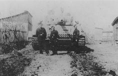 Tiger 411 of 1st SS Panzer Division Leibstandarte SS Adolf Hitler 1943 Ukraine
