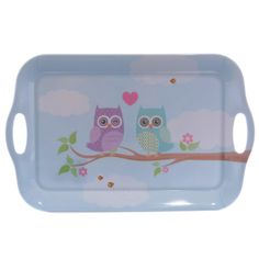Made from a mix of durable melamine and plastic  Dimensions:  Width 39cm Depth 25cm Height 2cm   Delivery prices available on Checkout