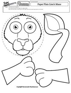 Monkey Stencils Paper Crafts: With these free printable