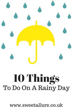 As the UK weather is always so unpredictable, we often find ourselves stuck inside on a rainy day. Here my 10 things to do on a rainy day ideas! Things To Do On A Rainy Day, Rainy Day Fun, Things To Do At Home, Rainy Days, Fun Things, Uk Weather, Lifestyle Group, Egg Decorating, Blogging For Beginners