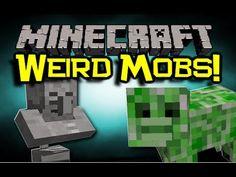 Minecraft: WEIRD HYBRIDS Mod Spotlight -  EPIC NEW MOBS ! (Minecraft Mod Showcase)