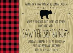"The Howard Family Blog: Sawyer's ""We're Going on a Bear Hunt"" Party"