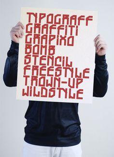 pixação tipografia - Pesquisa Google
