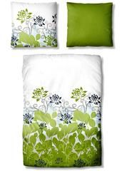 Bettwäsche, Auro Hometextile, »Ella«, mit Blumen, grün Home Decor Accessories, Flowers, Homes