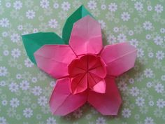 Sakura Star (Ali Bahmani)  folded   by  me https://www.youtube.com/watch?v=jMjVQ_q78To