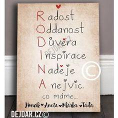 Obrázek, dárek pro pár - Dárky Dejdar - dárky k narozeninám a svatební dary
