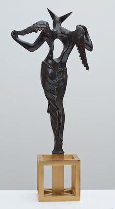 The surrealist Angel 02, Salvador Dalí