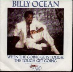BILLY OCEAN When The Going Gets Tough UK 12 vinyl single featuring the Extended 7 Club & Instrumental mixes picture sleeve Radios, 80s Rewind, Rewind Festival, Best Of 80s, Billy Ocean, Best Online Casino, Types Of Music, Extended Play, Cool Names