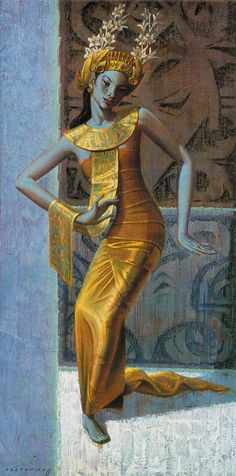 Ballinese Dancer by TRETCHIKOFF