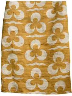 Good Look Room - Fabrics - Collections - Arjumand - The Imperial - TRIS BLOOM OCRA TUSSAH SILK