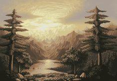 Pixelart Landscape 3 by Josiah-sparklepants