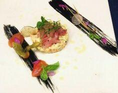 #Tartare di verdure con #maionese allo zenzero e lime, #sashimi di ricciola marinata e affumicata. Lo #chef #DomenicoMagistri ci propone la sua ricetta per cominciare al meglio la primavera! www.menudachef.it