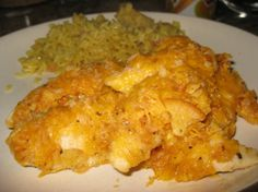 Cheddar Chicken.......originally From Real Simple. Once You Make This Recipe, Your Family Will Beg You For It All The Time. It Is Simple To Make And Absolutely Delicious.