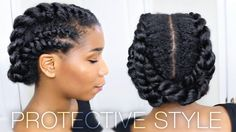 Naptural85 - Natural Hair Care Tips - protective hairstyles - natural hairstyles - protective styles for natural hair - natural hairstyles to work out - natural hairstyles for the gym - natural hairstyles for the office - work