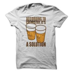 Beer is a Solution T-Shirts, Hoodies, Sweatshirts, Tee Shirts (19$ ==> Shopping Now!)