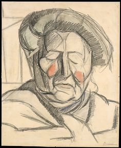 The Metropolitan Museum of Art - The Artist's Mother -1915 - Umberto Boccioni