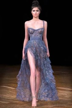 haute couture fashion Archives - Best Fashion Tips Elegant Dresses, Pretty Dresses, Amazing Dresses, Mode Outfits, Fashion Outfits, Fashion Ideas, Fashion Styles, High Fashion Dresses, Formal Fashion
