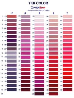 Zipperstop - They have hundreds of custom zipper colors… Page 4