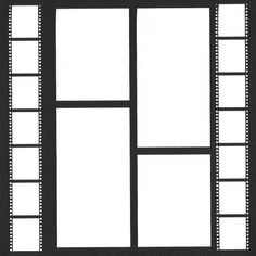 Filmstrip 12 x 12 Overlay Laser Die Cut ($4.50) ❤ liked on Polyvore featuring frames, backgrounds, decorate, effects, fondos, borders and picture frame