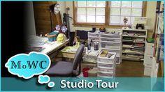 Art Studio Tour – My Watercolor Painting Space